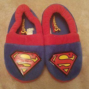 Boys  Superman Slippers size 12